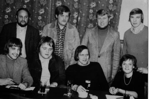 Gr _ndung Juso-gruppe In Landolfshausen 1973